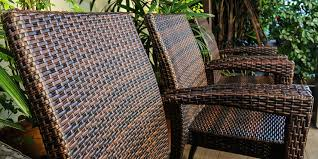 Resin Benches Outdoor by Natural Wicker Vs Synthetic Resin Wicker Furniture