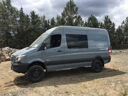 For Sale 2016 Grey Blue 4x4 Sprinter 144