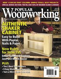 2006 issues of popular woodworking magazine