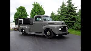 100 Custom Pickup Trucks 1949 Ford F3 Truck Restomod In Gray Engine Sound My Car Story With Lou Costabile
