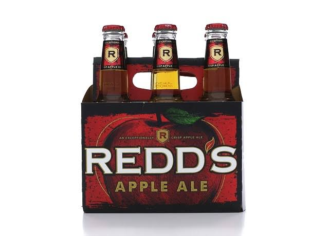 Redd's Apple Ale Beer - 6 Bottles