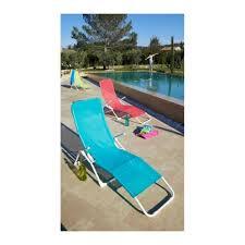chaise de plage carrefour carrefour bain de soleil 2 vitamine acier et