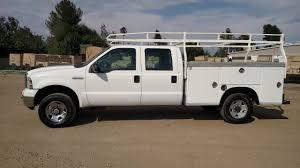 100 Ford F250 Utility Truck 2005 Crew Cab Royal Bed 4X4 SAS Motors