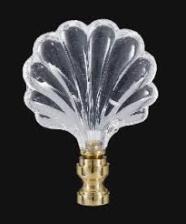 Crystal Glass Lamp Finials by Crystal Lamp Finial With Brass Base 11340 B U0026p Lamp Supply
