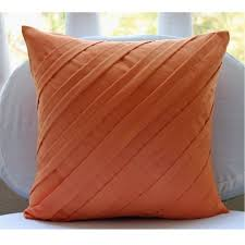 Orange Decorative Pillow Covers — Unique Hardscape Design Bright