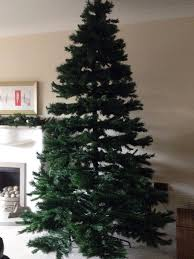 8ft Artificial White Christmas Tree by 8ft Artificial Christmas Tree Classic Shape In Llandudno Conwy