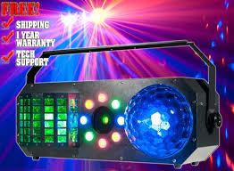 American DJ Boom Box FX1 4 FX IN 1 Lighting Fixture