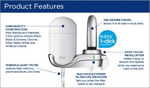 Pur 3 Stage Faucet Filter Refill by Pur Fm 3400b 3 Stage Vertical Faucet Mount White Faucet Mount