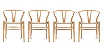 ch24 wishbone chair y chair stuhl eiche geölt 4 er set carl hansen søn