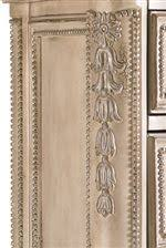Floral Wood Carved Pilasters And Dentil Molding