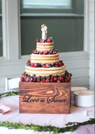 Wedding Cake Platter Personalized Stand