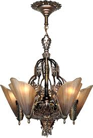 Vintage Hardware Lighting Art Deco And Nouveau Pertaining To Popular Property Chandeliers Prepare