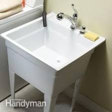 Mustee Utility Sink Legs by Mustee Utilatop White Laundry Tub Top Cover Laundry Room Sink