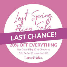 20% Off - Luxe Walls Coupons, Promo & Discount Codes ... Sorel Canada Promo Code Deal Save 50 Off Springsummer A Year Of Boxes Fabfitfun Spring 2019 Box Now Available Springtime Inc Coupon Code Ugg Store Sf Last Call Causebox Free Mystery Bundle The Hundreds Recent Discounts Plus 10 Coupon Tools 2 Tiaras Le Chateau 2018 Canada Coupons Mma Warehouse Sephora Vib Rouge Sale Flyer Confirmed Dates Cakeworthy Ulta 20 Off Everything April Lee Jeans How Do I Enter A Bonanza Help Center