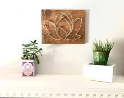 Lotus Wall Art Living Room Dining Bathroom