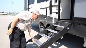 MORryde Flip Down RV Entry Step - YouTube