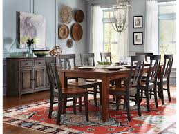 John Thomas Dining Room Farmhouse Table At Tyndall Furniture Mattress