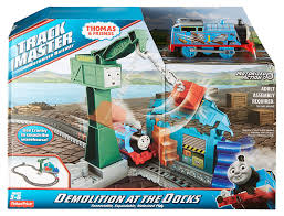 Trackmaster Tidmouth Sheds Playset by Amazon Com Fisher Price Thomas U0026 Friends Trackmaster Demolition