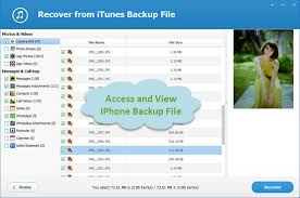 Free iPhone Backup Viewer Access and View iPhone Backup Files on PC