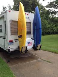 Kayak Racks For Back Of Fifth Wheel RV | Kayak Stuff | Pinterest ...