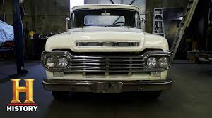 American Restoration: Bodie's '59 Ford F100 | History - YouTube Picture Tag White 59 F100 Fast Lane Classics A 1967 Ford Ranger 100 In Nov 2012 Seen In Kingston Ny Richie 1959 Ford Truck Favorites Pinterest 1960s Crew Cab Vehicles And Ideas Ford You Know To Haul The Veggies Market Hort Version 20 Words 2005 Eone 4x4 Quick Attack Wcafs Used Details Baby Blue Chalky For Sale F100 Discussions At Test Drive Sold Sun Valley Auto Club Youtube Little Chef Meet Kilndown Stepside Pickup A Curbside Mercury Trucks We Do Things Bit Differently