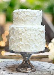 Pastel De Boda Lolita Bakery Wedding Cake Vintage Frosting Coconut