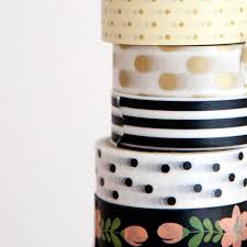 Halloween Washi Tape Uk by White Washi Tape Black Spots Mrsbrimbles