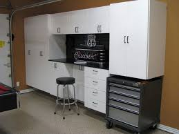 Cheap Garage Cabinets Diy furniture unfinished diy custom garage cabinet using plywood for