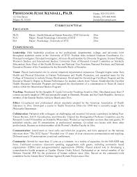 Resume Format For Lecturer In Computer Science Software Engineer