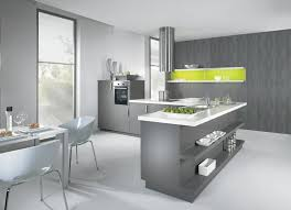 Kitchen L Counter Yellow Shelves Beautiful White And Grey Great