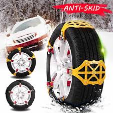 Hot Sale Winter Universal Car Tire Anti Skip Snow Chain Cars Trucks ...