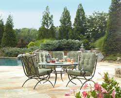 Kmart Wicker Patio Sets by Jaclyn Smith Cora 5 Dining Chairs Sage Green Limited