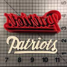 Ne Patriots Pumpkin Stencil by Sports Page 3 Of 11 Jb Cookie Cutters