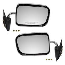 100 Truck Mirror Replacement Driver And Passenger Manual Side View S 6x9 Standard Mount
