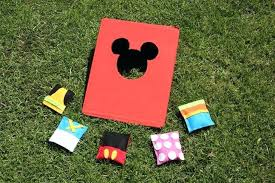 Bean Bags Game Bring Some Magic To Your Next Picnic Or Outdoor With This Adorable Mickey