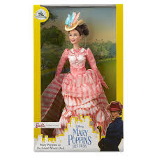 Disney Mary Poppins Returns Barbie Signature Doll New With Box I