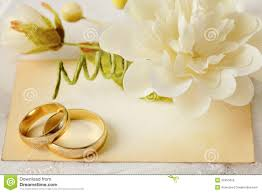 Wedding Invitation Stock Image Of Gold