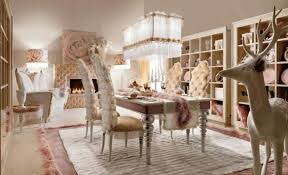 Luxurious Classic Dining Room Furniture Sets For Victorian Interior Design Decoration With Beautiful