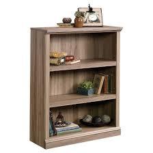 3 Shelf Bookcase Salt Oak Sauder Tar