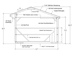 How To Build A Pole Shed Free Plans by Run In Sheds Horse Shed Design U0026 Shed Plans