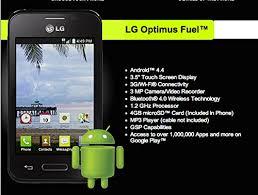 Amazon Straight Talk LG Optimus Fuel Android KitKat 4 4