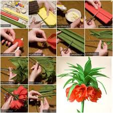 How To Make Pretty Crepe Paper Flower Step By DIY Tutorial Instructions Thumb