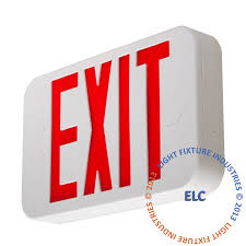 exit signs led exit signs battery backup exit signs exit light co