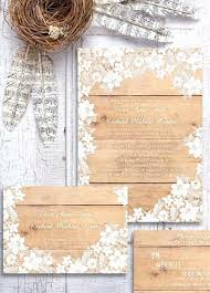 Fresh Rustic Elegant Wedding Invitations Or Amazing