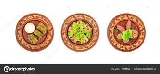 cuisine caucasienne différents types de plats de la cuisine caucasienne photographie