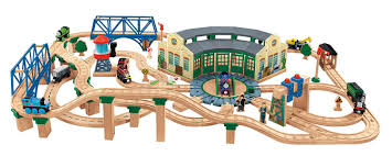 Thomas And Friends Tidmouth Sheds Wooden Railway by Fisher Price Thomas Friends Wooden Railway Deluxe Railroad Thomas