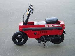 The Honda Motocompo Is A Tiny Folding Scooter Sold By 1981 1983