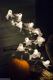 Halloween Chasing Ghosts Projector Light by 100 Halloween Ghost String Lights Halloween Orange Fog