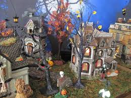 Lemax Halloween Village Displays by Halloween Christmas Village Collector U0027s Most Interesting Flickr