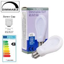 allcam dimmable led bulb b22 bc e27 e14 gu10 4w 7w warm white